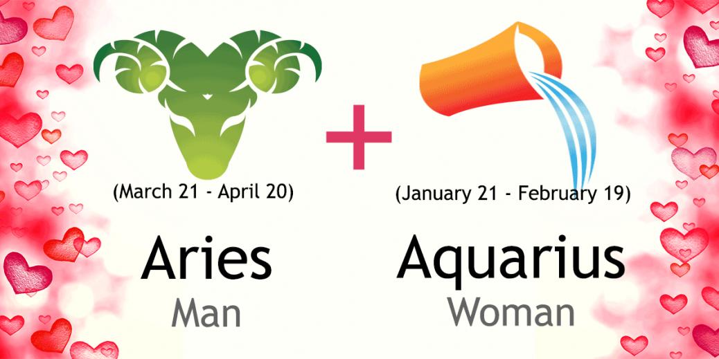 aries-man-aquarius-woman