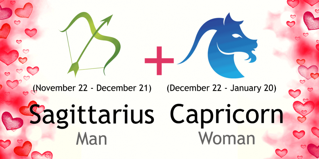 capricorn woman dating sagittarius man Get your free sagittarius horoscope and find out what the planets have predicted for your day, week, month and year browse through your daily horoscope today.