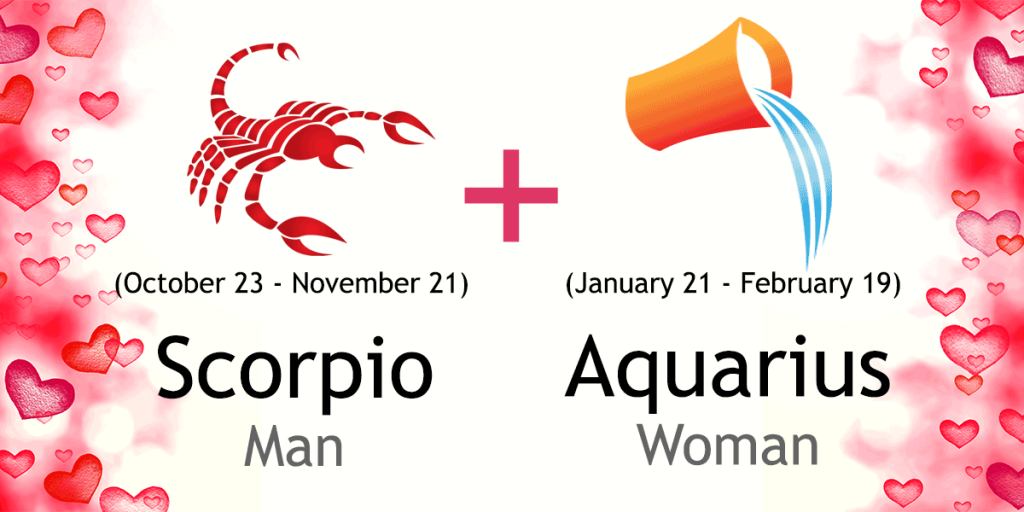 What sign is compatible with scorpio male