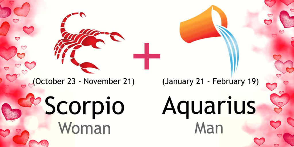 sign compatibility scorpio aquarius woman