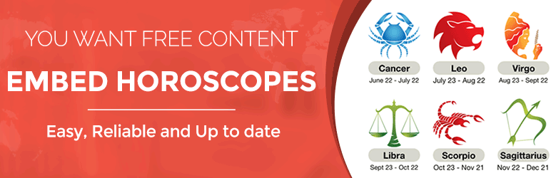 Horoscopes API For Your Website, Apps and White Label Solutions