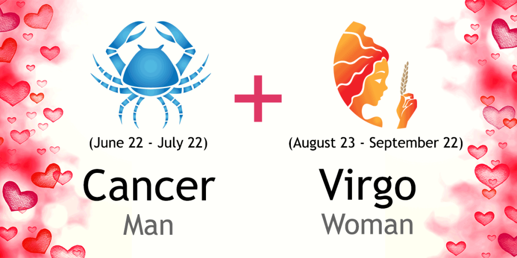 virgo woman dating a cancer man Virgo in relationships virgo in love virgo's the protector cancer in love and relationships allow the virgo man or woman to control things that are happening.