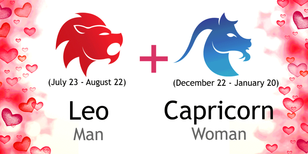 capricorn woman dating leo man