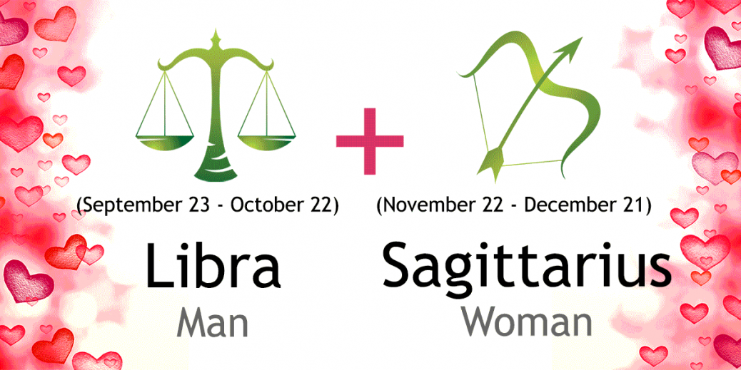 In Love A Sagittarius Man With Woman Libra