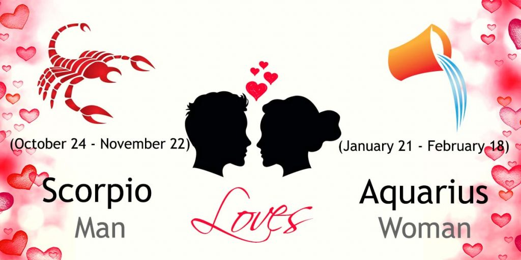 Scorpio Man and Aquarius Woman Love Compatibility | Ask Oracle